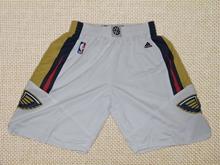 Mens Nba New Orleans Pelicans White Shorts