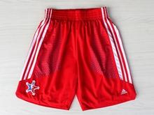Mens Nba 2014 All Star Red Shorts