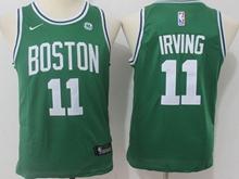 Youth Nba Boston Celtics #11 Kyrie Irving Green Swingman Nike Jersey