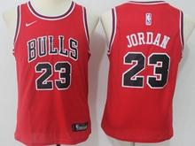 Youth Nba Chicago Bulls #23 Michael Jordan Bulls Red Swingman Nike Jersey
