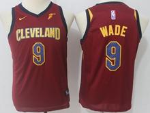 Youth Nba Cleveland Cavaliers #9 Dwyane Wade Red Swingman Nike Jersey
