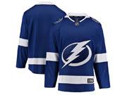 Mens Nhl Tampa Bay Lightning Blank Blue Adidas Jersey