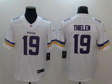 Mens Nfl Minnesota Vikings #19 Adam Thielen White Vapor Untouchable Limited Jersey