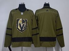 Mens Nhl Vegas Golden Knights Blank Green Adidas Hockey Jersey