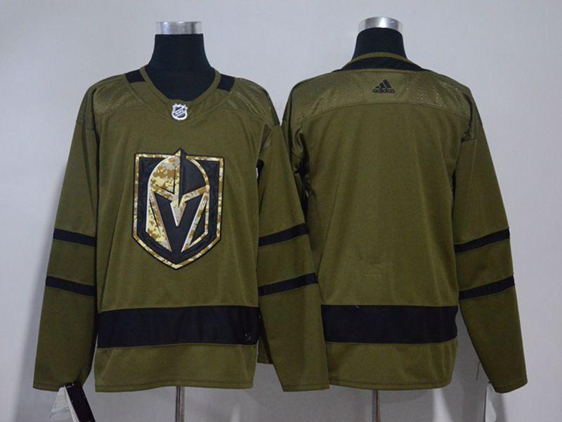 Mens Nhl Vegas Golden Knights Blank Green Adidas Hockey Jersey