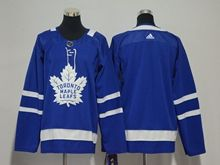 Youth Women Nhl Toronto Maple Leafs Blank Blue Adidas Jersey