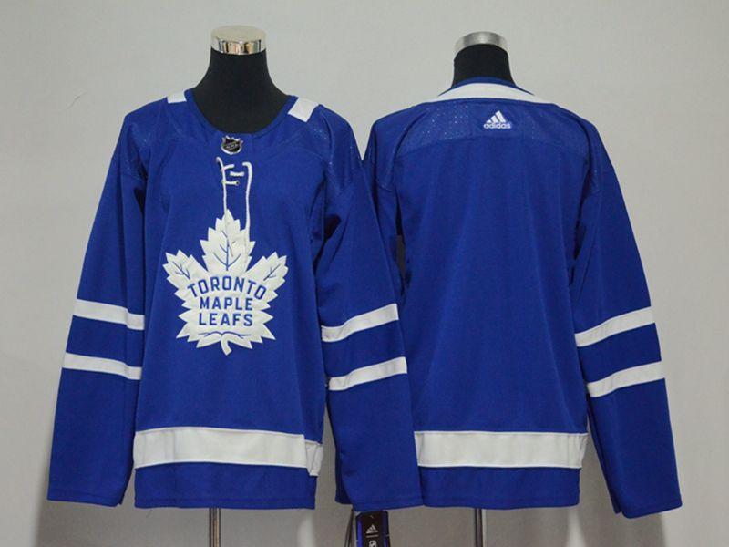 Youth Women Nhl Toronto Maple Leafs Blank Blue Adidas Jersey