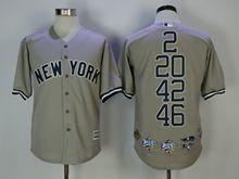 Mlb New York Yankees Mixed Honor Gray Jersey