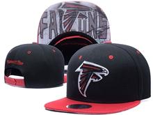 New Mens Nfl Atlanta Falcons Black Snapback Hats