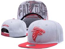New Mens Nfl Atlanta Falcons Gray Snapback Hats