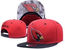 New Mens Nfl Arizona Cardinals Red Snapback Hats