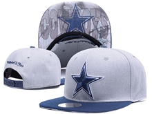 New Mens Nfl Dallas Cowboys Gray Snapback Hats
