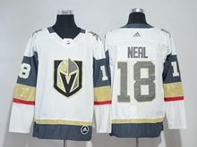 Mens Nhl Vegas Golden Knights #18 James Neal White Hockey Adidas Jersey