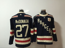 Mens Nhl New York Rangers #27 Ryan Mcdonagh Dark Blue Adidas Jersey
