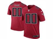 Mens Nfl Atlanta Falcons Custom Made Red Color Rush Limited Jersey