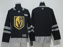 Mens Nhl Vegas Golden Knights Blank Black Adidas Hockey Jersey
