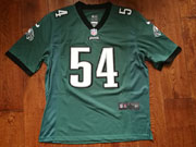 Mens Nfl Philadelphia Eagles #54 Kamu Grugier-hill Green Game Jersey