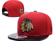 New Mens Nhl Chicago Blackhawks Snapback Hats