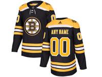 Mens Nhl Boston Bruins Custom Made Black Home Adidas Jersey