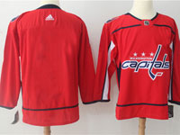 Mens Nhl Washington Capitals Blank Red Adidas Jersey