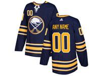 Mens Nhl Buffalo Sabres Custom Made Dark Blue Home Adidas Jersey