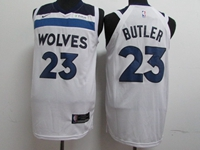 17-18 New Mens Nba Minnesota Timberwolves #23 Jimmy Butler White Nike Player Jersey