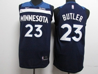 17-18 New Mens Nba Minnesota Timberwolves #23 Jimmy Butler Blue Nike Player Jersey
