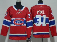 Youth Montreal Canadiens #31 Carey Price Red Home Premier Adidas Jersey