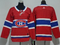 Youth Montreal Canadiens Blank Red Home Premier Adidas Jersey