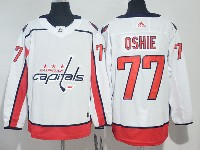 Mens Nhl Washington Capitals #77 T. J. Oshie White Adidas Jersey