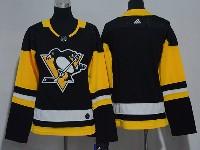 Women Nhl Pittsburgh Penguins Blank Black Adidas Jersey