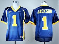 Mens Ncaa Nfl California Golden Bears #1 Desean Jackson Navy Blue Jersey