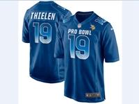 Mens Nfc Nfl Minnesota Vikings #19 Adam Thielen Blue 2018 Pro Bowl Game Nike Jersey