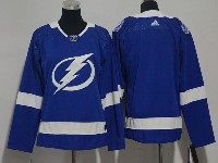 Youth Nhl Tampa Bay Lightning Blank Blue Adidas Jersey