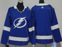 Women Nhl Tampa Bay Lightning Blank Blue Adidas Jersey
