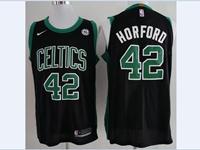 2017-18 New Mens Nba Boston Celtics #42 Al Horford Black Nike Player Jersey