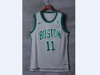 Mens Nba Boston Celtics #11 Kyrie Irving Gray Nike City Jersey