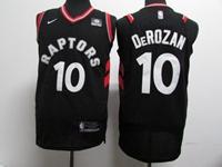 New Mens Nba Toronto Raptors #10 Demar Derozan Black Nike Jersey