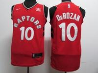 New Mens Nba Toronto Raptors #10 Demar Derozan Red Nike Jersey