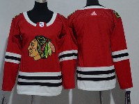 Women Youth Nhl Chicago Blackhawks Blank Red Adidas Jersey