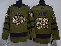 Mens Nhl Chicago Blackhawks #88 Patrick Kane Green Hockey Aidas Jersey