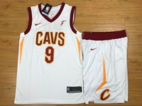 New Mens Nba Cleveland Cavaliers #9 Dwyane Wade White Nike Suit Jersey