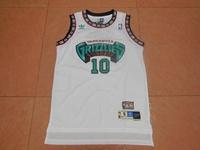 Mens Nba Vancouver Grizzlies #10 Mike Bibby White Swingman Jersey