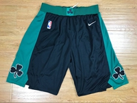 Mens Nba Boston Celtics Black Nike Shorts