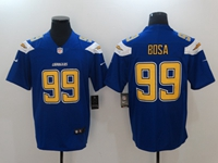 Mens Los Angeles Chargers #99 Joey Bosa Blue Vapor Untouchable Limited Jersey