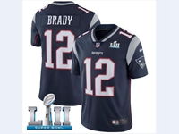 Mens Women Youth New England Patriots Blue 2018 Super Bowl Lii Bound Vapor Untouchable Limited Jersey