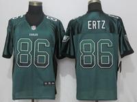 Mens Nfl Philadelphia Eagles #86 Zach Ertz Green Drift Fashion Elite Jersey