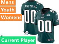 Mens Women Youth Nfl Philadelphia Eagles Green 2018 Super Bowl Lii Bound Vapor Untouchable Limited Jersey