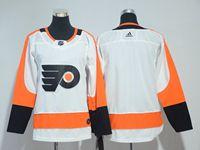 Women Youth Nhl Philadelphia Flyers Blank White Adidas Jersey