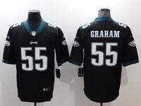 Mens Nfl Philadelphia Eagles #55 Brandon Graham Black Vapor Untouchable Limited Jersey